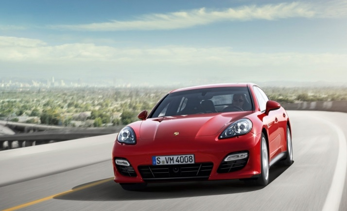 Porsche Panamera GTS внешний вид