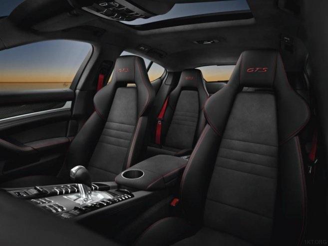 Пассажирский ряд сидений Porsche Panamera GTS
